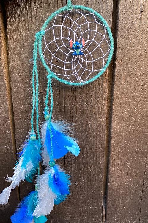 Stitch 5 inch round Dreamcatcher