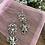 Thumbnail: Elephant Lotus Dangle Earrings