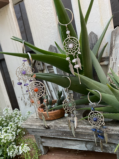 Metal Keychain Dreamcatchers