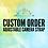 Thumbnail: Grateful Dead Adjustable Camera Strap or Custom Made