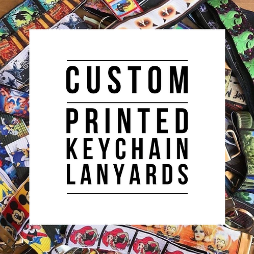 Custom Printed Keychain Lanyards