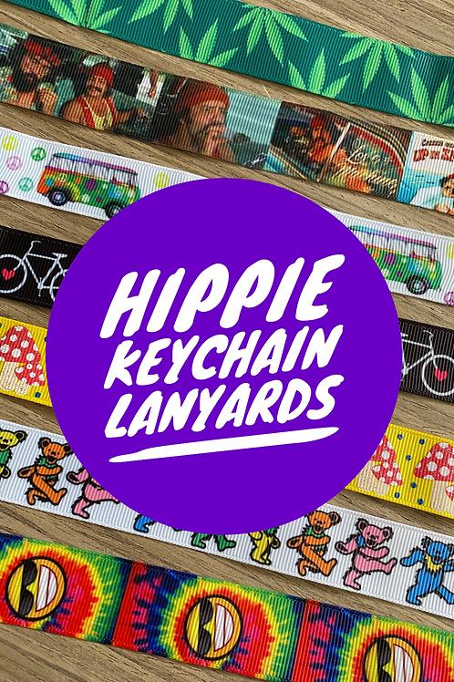 Hippie Keychain Lanyards