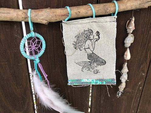 Mermaid Dreams Wall hanging