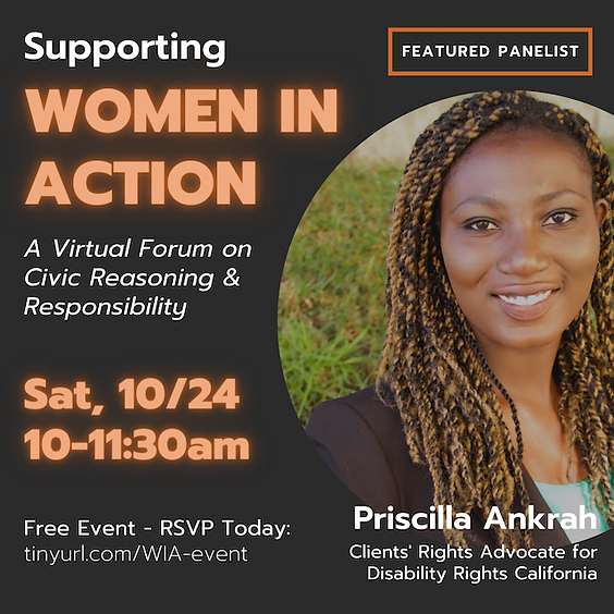 Women in Action:  Get Out the Vote, Civic Education & The Citizen