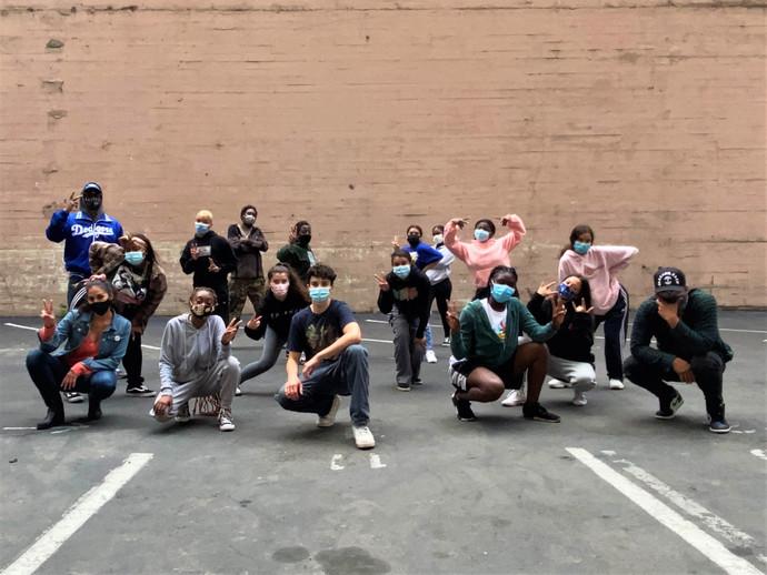 Destiny Arts Center Dance Students and ENDEAVORS.
