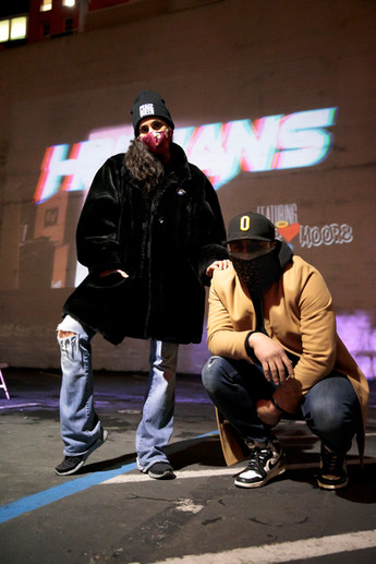 Photo by Joe Keefe  ENDEAVORS at DJ Toure ft Loove Moore's Humans video release at The Lot