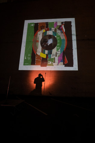 """Photo By David Kim  """"Truths and Roses"""" premiere by Kev Choice in The Lot"""