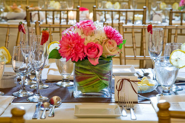Flower decorations for private events from Estrella's Flower Shop in Dallas, TX