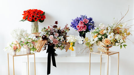 Floral arrangements for corporate events