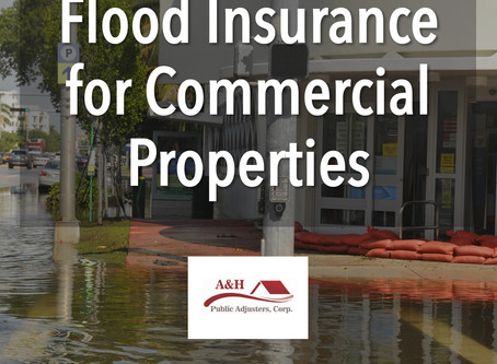 Flood Insurance for Commercial Properties