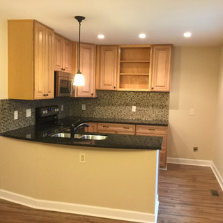 After renovations kitchen