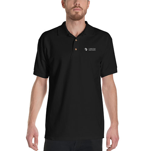 Embroidered Polo Shirt - 100% Cotton