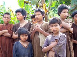 Ashaninka community, Peru 2008.