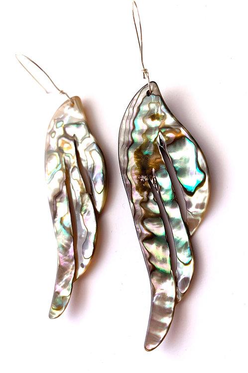 Abalone Wing Earrings