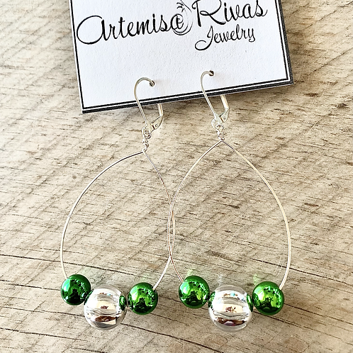 Ball Ornament Earrings