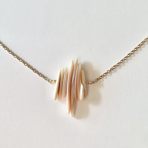 Simple Seashell Necklace
