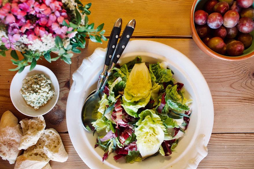 Salat Vorspeise Klassisches Menü Kleine Schäferei Biesenbrow