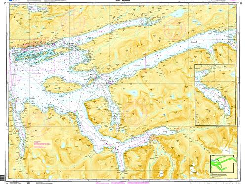 034 Romsdalsfjorden. Molde - Åndalsnes