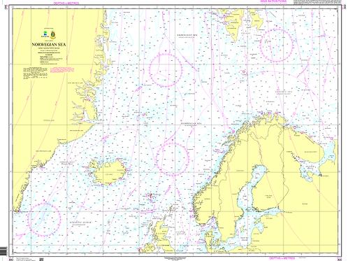 300 Norwegian Sea and adjacent seas