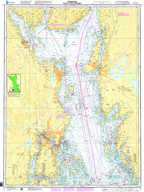 003 Oslofjorden. Fulehuk - Filtvet - Rødtangen