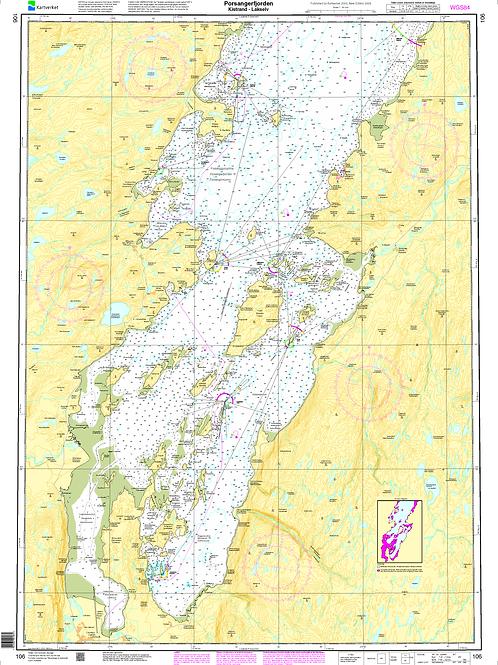 106 Porsangerfjorden, Kistrand - Lakselv