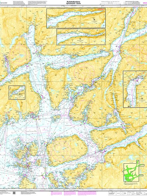 015 Ryfylkefjordane. Sjernarøyane - Sauda