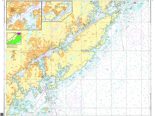 453 Arendal havn med innseilinger