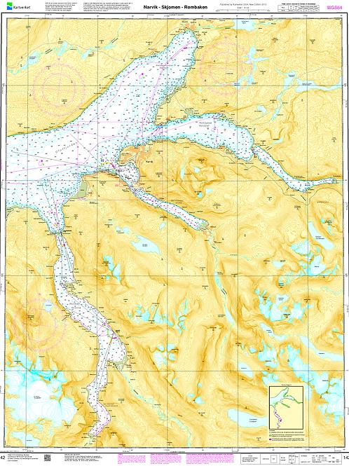 142 Narvik - Skjomen - Rombaken