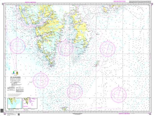 505 Svalbard. Bjørnøya - Isfjorden - Storfjorden - Hopen