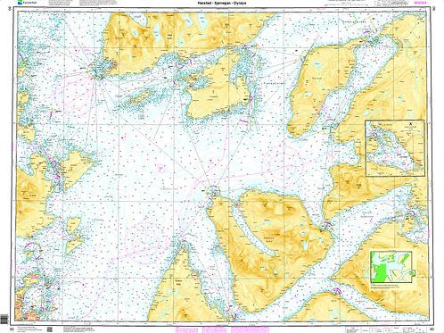 080 Harstad - Sjøvegan - Dyrøya