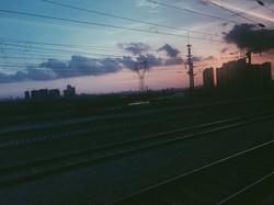 Train Ride to Guangzhou