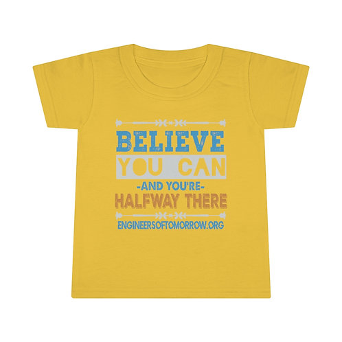 Toddler Believer you can