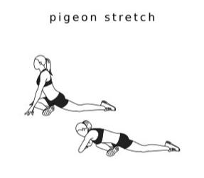 PIGEON STRETCH