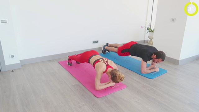 Elbow Plank Rotation