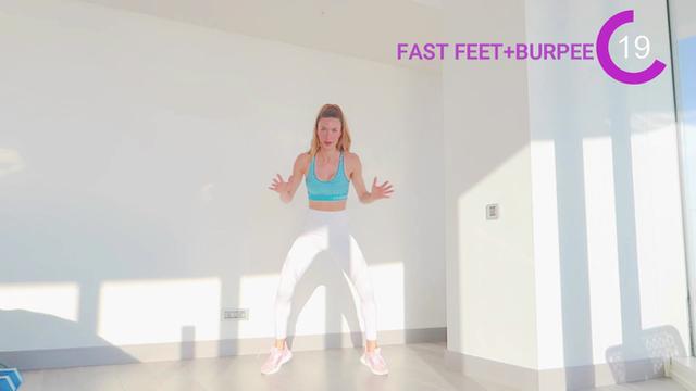 Fast Feet + Burpee