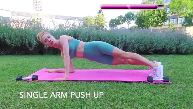SINGLE ARM PUSH UP