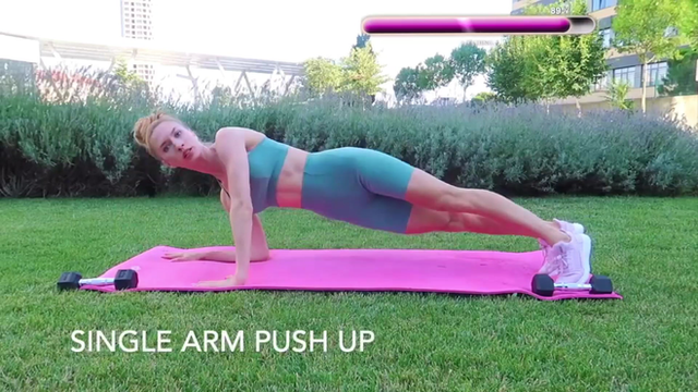 SINGLE ARM PUSH UP