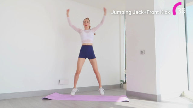Jumping Jack+Front Kick