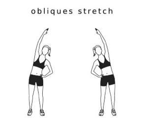 OBLIQUE STRETCH