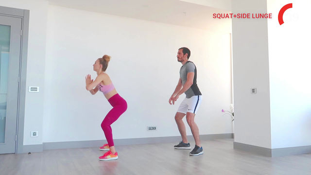 Squat to Side Lunge