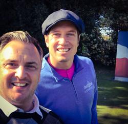 Matt with Vernon Kay