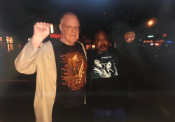Roy Morris with Ras