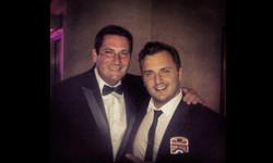 Matt with Tony Hadley