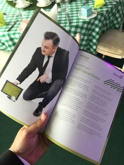 Matt in the John Lewis & Waitrose golf programme