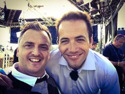 Matt with Nick Doherty