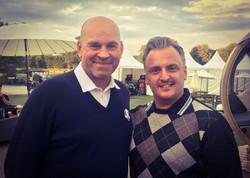 Matt with Thomas Bjorn