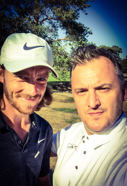 Matt with Tommy Fleetwood