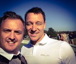 Matt with John Terry