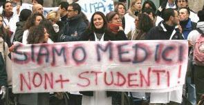 Medici specializzandi: la legittimazione passiva spetta alla Presidenza del Consiglio dei Ministri