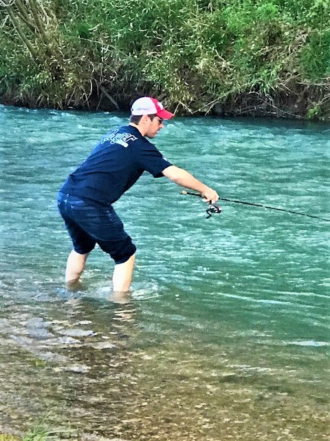 Russ Fishing Fast Water
